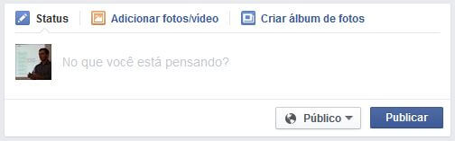 Facebook (Caixa de publicação)